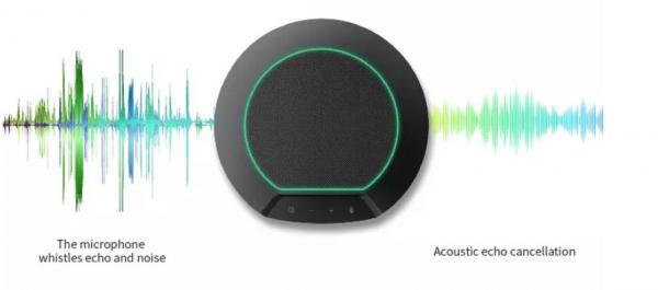 Zwei wireless Konferenz Mikrofone gleichzeitig